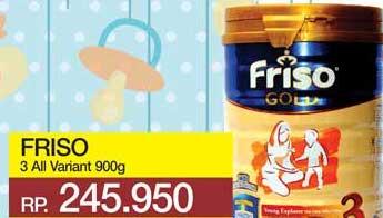 Promo Harga FRISO Gold 3 Susu Pertumbuhan All Variants 900 gr - Yogya