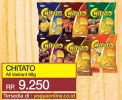 Promo Harga CHITATO Snack Potato Chips All Variants 68 gr - Yogya