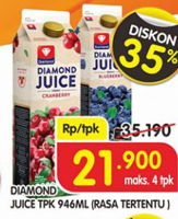 Promo Harga DIAMOND Juice 946 ml - Superindo
