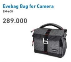 Promo Harga EVEBAG Bag for Camera BM-600/GY  - Electronic City