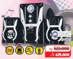 Promo Harga GMC Speaker 888K  - Lotte Grosir