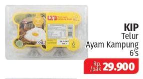 Promo Harga KIP Telur Ayam Kampung 6 pcs - Lotte Grosir