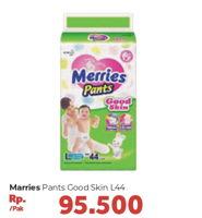 Promo Harga MERRIES Pants Good Skin L44 44 pcs - Carrefour