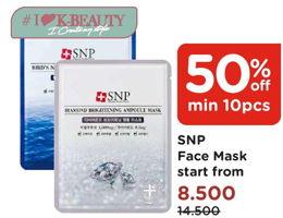 Promo Harga SNP SNP Mask  - Watsons