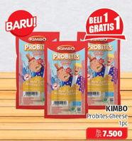 Promo Harga KIMBO Probites New York Melting Cheese 1 pcs - Lotte Grosir