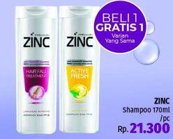 Promo Harga ZINC Shampoo 170 ml - LotteMart