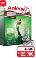 Promo Harga ANLENE Actifit Susu High Calcium 250 gr - Alfamidi