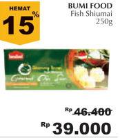 Promo Harga BUMIFOOD Fish Shumai (Siomay) 250 gr - Giant