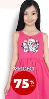 Promo Harga KIDS ICON Dress  - Carrefour