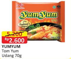 Promo Harga YUMYUM Mi Instan Tom Yum Udang Kuah Creamy  - Alfamart