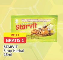 Promo Harga STARVIT Jamu Herbal 15 ml - Alfamart