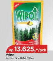 Promo Harga WIPOL Karbol Wangi Lemon, Classic Pine 780 ml - TIP TOP