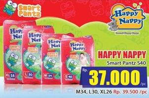 Promo Harga HAPPY NAPPY Smart Pantz Diaper S40  - Hari Hari
