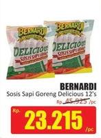 Promo Harga BERNARDI Delicious Sosis Sapi Goreng 12 pcs - Hari Hari