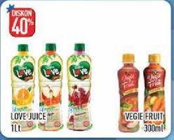 Promo Harga LOVE LOVE Juice/LOVE Vegie Fruit Special Pack  - Hypermart