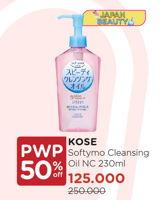 Promo Harga KOSE Softymo Speedy Cleansing Oil 230 ml - Watsons