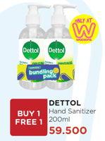 Promo Harga DETTOL Hand Sanitizer 200 ml - Watsons