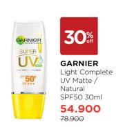 Promo Harga GARNIER Light Complete Super UV 30 ml - Watsons