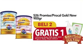 Promo Harga S26 Promise / Procal Gold  - Carrefour