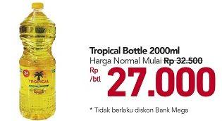 Promo Harga TROPICAL Minyak Goreng 2000 ml - Carrefour