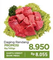 Promo Harga Daging Rendang per 100 gr - Carrefour