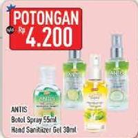 Promo Harga ANTIS ANTIS Hand Sanitizer/Handwashing Fresh  - Hypermart