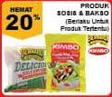 Promo Harga BERNARDI BERNARDI/ KIMBO Bakso, Sosis  - Giant