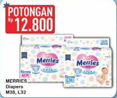 Promo Harga MERRIES Tape M38, L32  - Hypermart