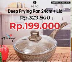 Promo Harga PERO Deep Fry Pan 24 Cm  - Yogya