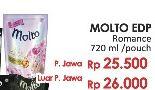 Promo Harga MOLTO Eau De Parfum K-Romance 720 ml - LotteMart