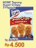 Promo Harga KOBE Tepung Bumbu Super Crispy 210 gr - Indomaret