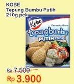 KOBE Tepung Bumbu Putih 210 gr Diskon 48%, Harga Promo Rp3.900, Harga Normal Rp7.500