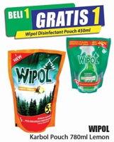 Promo Harga WIPOL Karbol Wangi Lemon 780 ml - Hari Hari