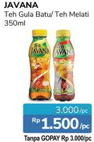 Promo Harga JAVANA Teh Gula & Batu Melati 350 ml - Alfamidi