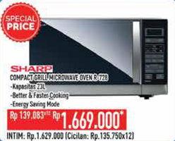 Promo Harga SHARP R-728(K)-IN   Microwave  - Hypermart