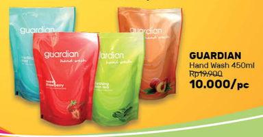 Promo Harga GUARDIAN Hand Wash 450 ml - Guardian