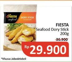 Promo Harga FIESTA SEAFOOD Dory Stick 200 gr - Alfamidi