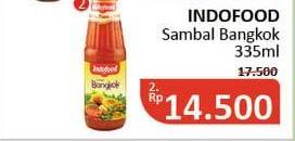 Promo Harga INDOFOOD Sambal Bangkok 335 ml - Alfamidi