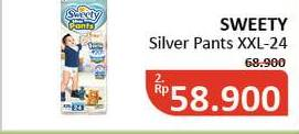 Promo Harga SWEETY Silver Pants XXL24  - Alfamidi