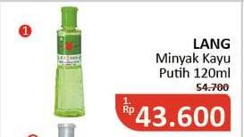 Promo Harga CAP LANG Minyak Kayu Putih 120 ml - Alfamidi