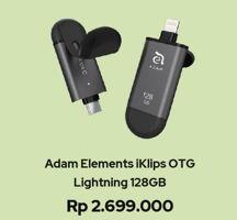 Promo Harga ADAM Elements Iklips OTG 128GB  - iBox