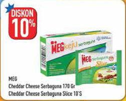 Promo Harga MEG MEG Keju Serbaguna Slice/Keju Serbaguna  - Hypermart