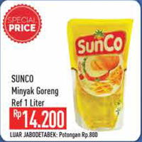 Promo Harga SUNCO Minyak Goreng 1000 ml - Hypermart