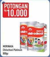 Promo Harga MORINAGA Chil School Platinum 800 gr - Hypermart