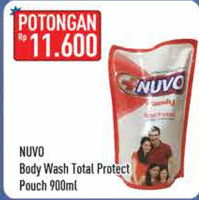 Promo Harga NUVO Body Wash Total Protect 900 ml - Hypermart