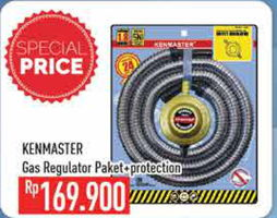 Promo Harga KENMASTER Gas Accessories  - Hypermart