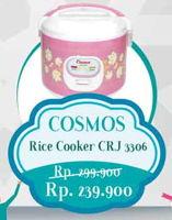 Promo Harga COSMOS CRJ 3306 Rice Cooker  - Yogya
