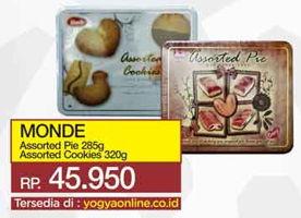 Promo Harga MONDE MONDE Assorted Pie/Cookies  - Yogya