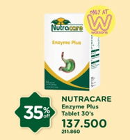 Promo Harga NUTRACARE Enzyme Plus 30 pcs - Watsons