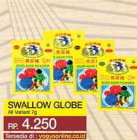 Promo Harga SWALLOW Agar-agar Powder All Variants 7 gr - Yogya